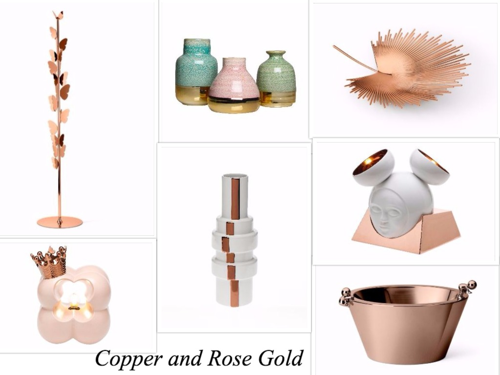 Copper Gold Design Trend