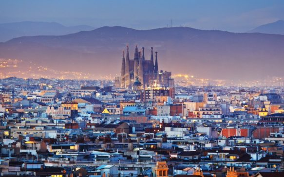 The Colours of Barcelona